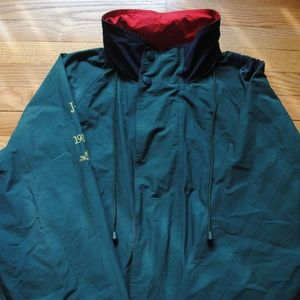 Men's Green Nautica Jacket w/Hood (Size XL)